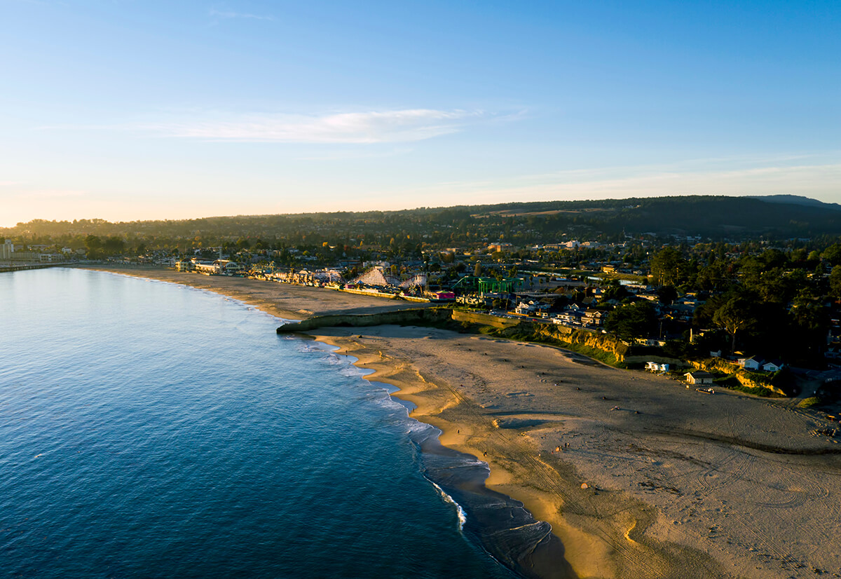 Santa Cruz Aerial Photography