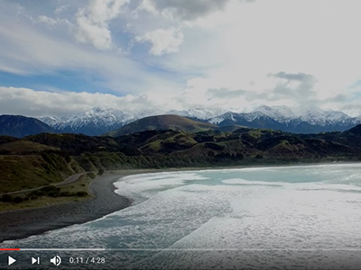 new zealand drone video